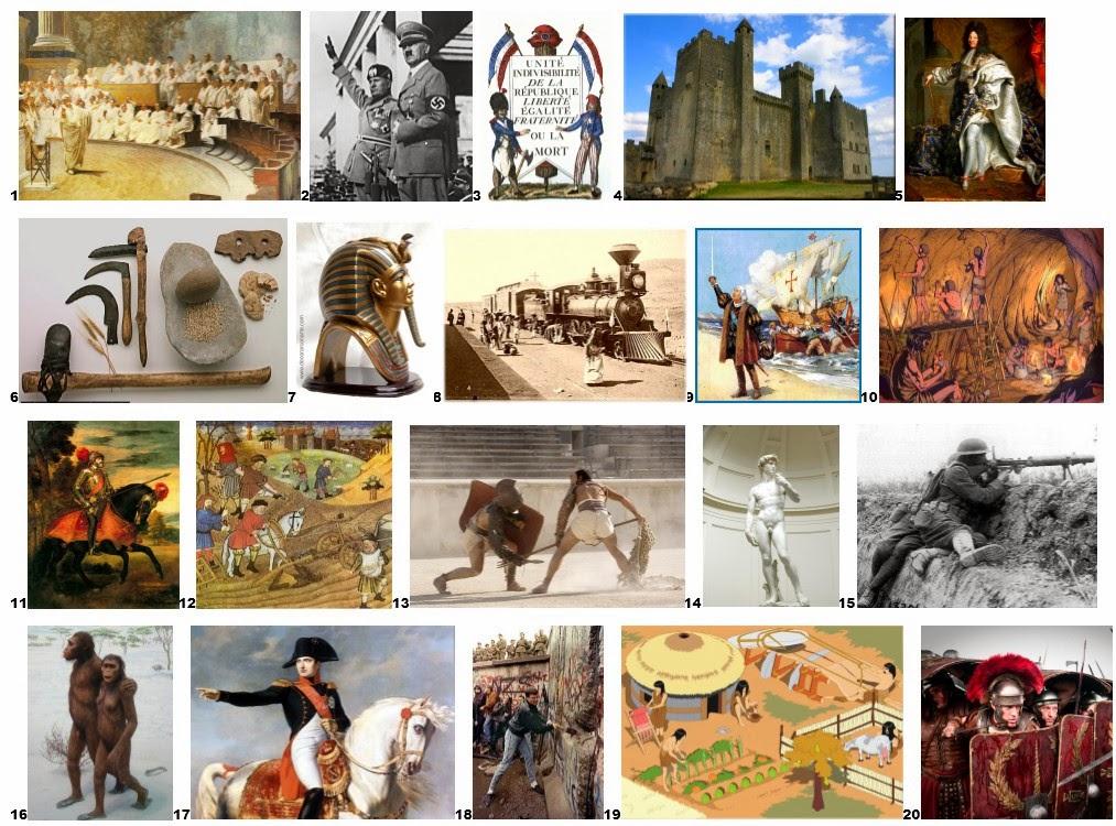 Blog de sociales 1 eso la historia sus etapas y fuentes for Imagenes de epoca contemporanea
