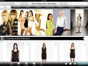Boutiques iPad app released by Google 1