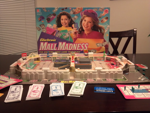 Electronic Mall Madness Board Game Day