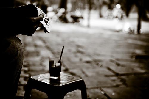 Cafe phố buổi sáng, thơ cà phê sáng, cà phê sáng, cà phê,