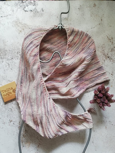 tricot | The Junction Shawl