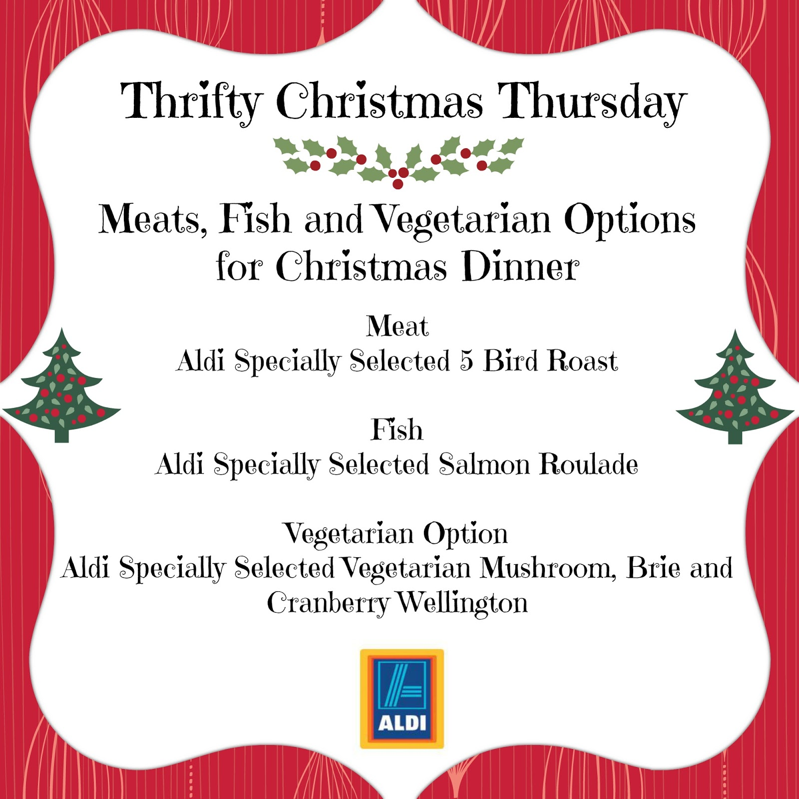 Hijacked By Twins: Thrifty Christmas Thursday with Aldi - Meat, Fish ...