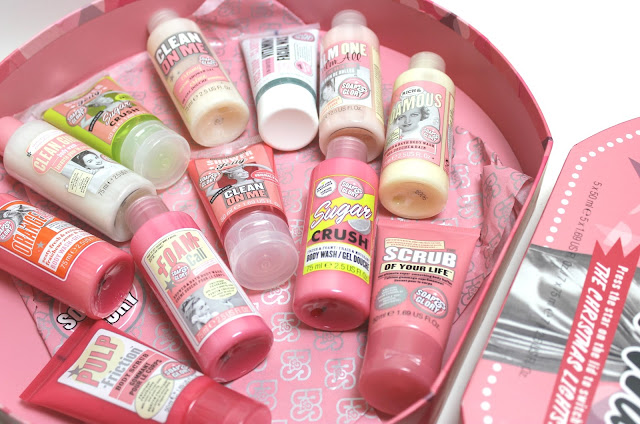 Soap & Glory 12 Christmas Washes Review