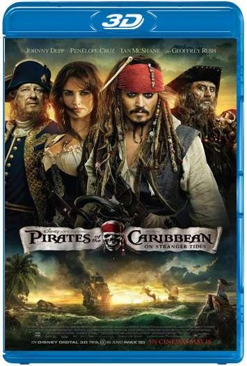 Piratas del Caribe 4: Navegando aguas misteriosas (2011) 3D SBS Latino