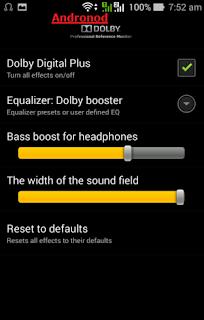 Install dan Setting Dolby Digital Plus Di Semua Asus Zenfone