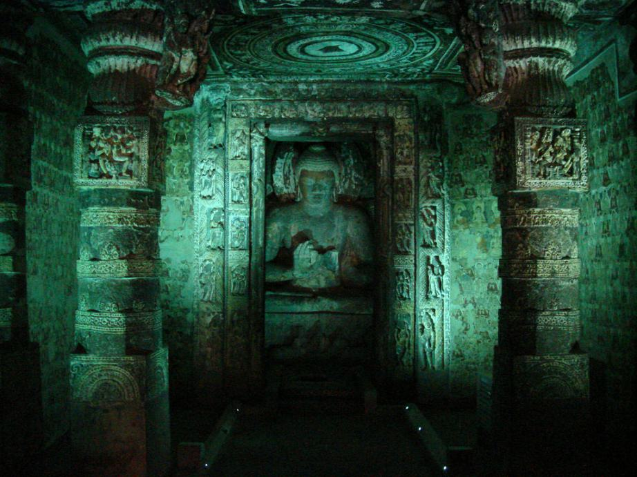 A Guide For Ajanta Caves Part 2 Cave 2