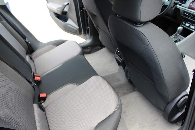 VW Virtus 2018  - Espaço traseiro