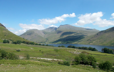 lakeland fells scafell and scafell pike