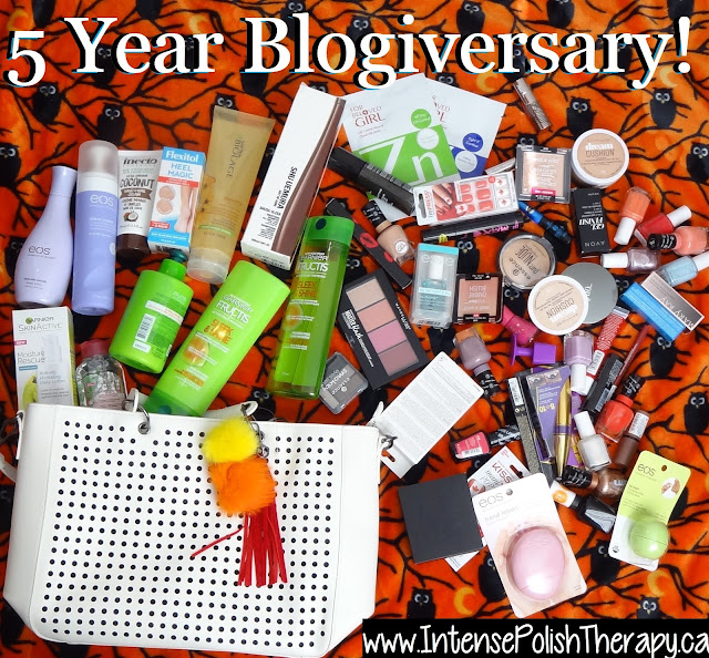 5 Year Blogiversary Giveaway!