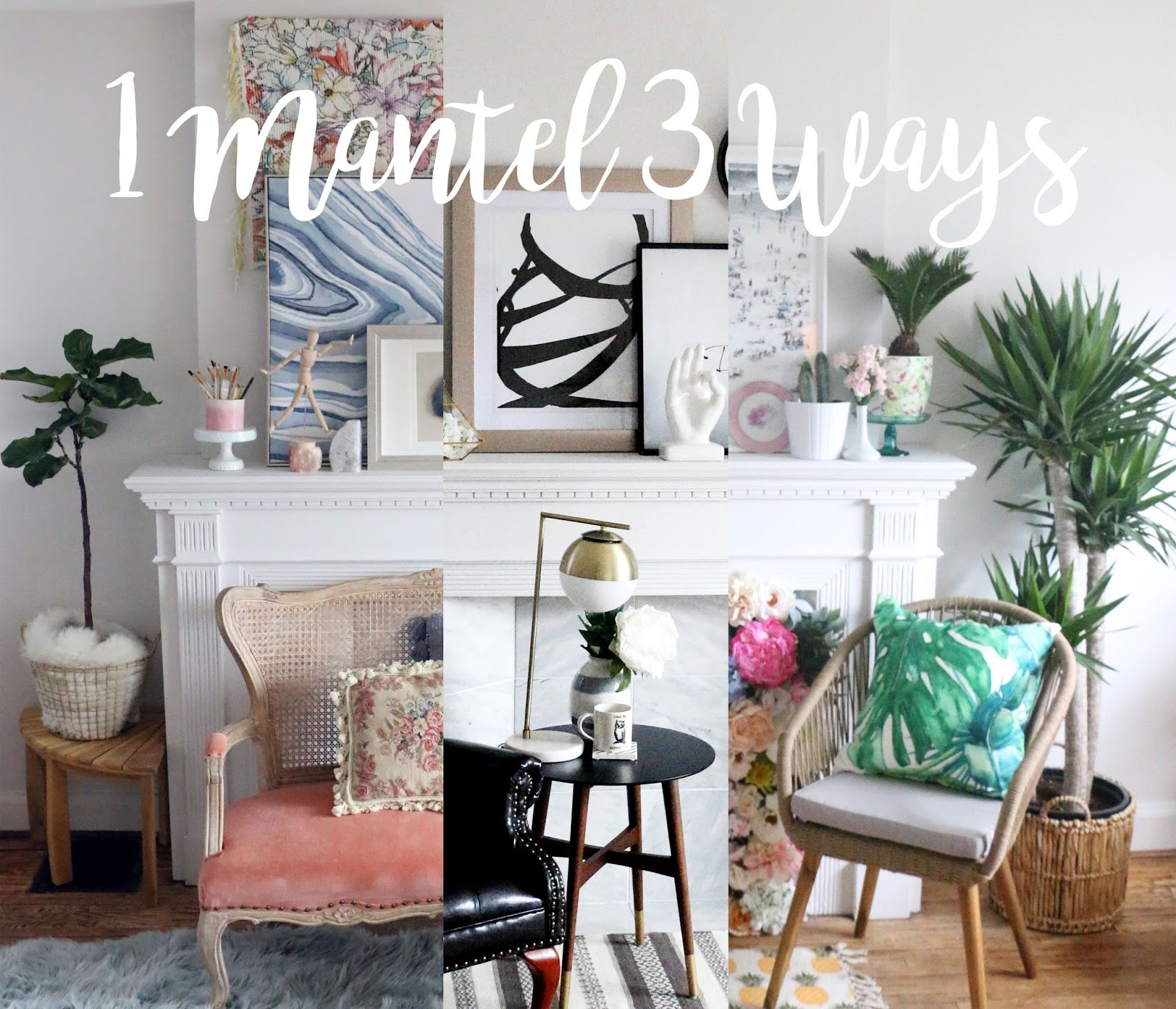 1 Mantle 3 Ways with HomeSense - THE PARTY PARADE