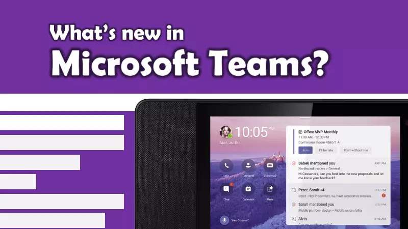 Features added to Microsoft Teams in November 2020 update