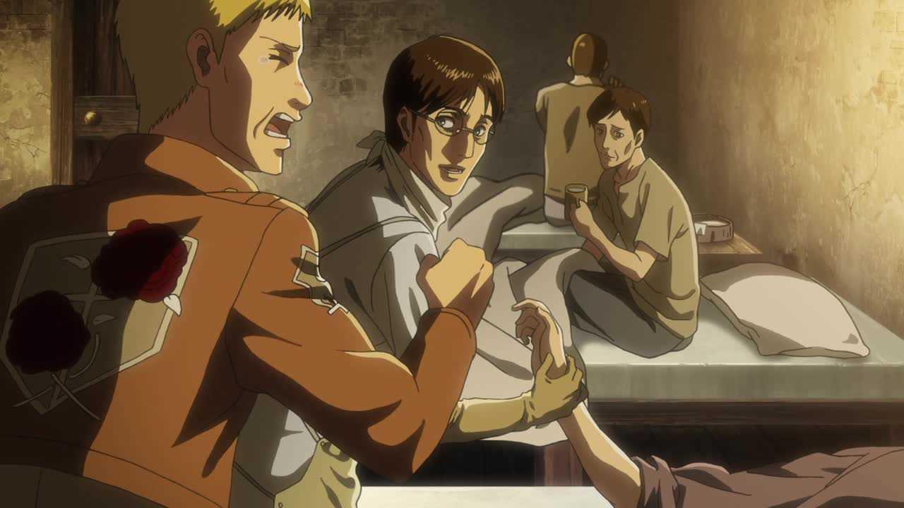 الحلقة الحادية عشر من أنمي هجوم العمالقة الموسم الـ3  Shingeki no Kyojin S3 -11
