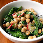 Chickpea Spring Green Salad