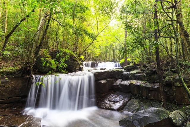 Tempat dan Aktiviti Menarik di Phu Quoc Suoi Tranh Waterfall