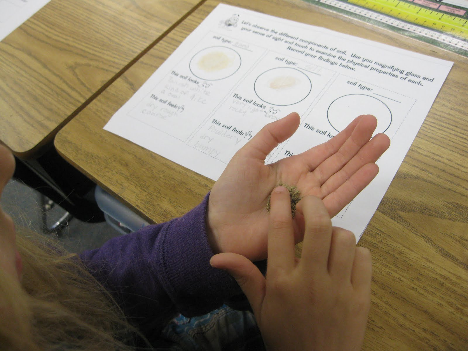 Third Grade Thinkers Types Of Soil Investigation And Printable