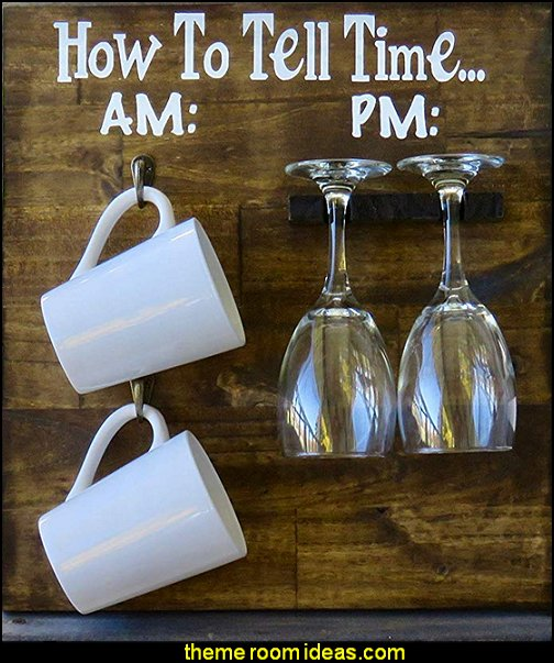How To Tell Time, AM PM Wine Sign, Rustic Home Decor  kitchen accessories - fun kitchen decor - decorative themed kitchen  - novelty mugs - kitchen wall decals - kitchen wall quotes - cool stuff to buy - kitchen cupboard contact paper -  kitchen storage ideas - unique kitchen gadgets - food pillows - kitchen accessories - fun kitchen decor - decorative themed kitchen  - novelty mugs - kitchen wall decals - kitchen wall quotes - cool stuff to buy - kitchen cupboard contact paper -  kitchen storage ideas - unique kitchen gadgets - food pillows