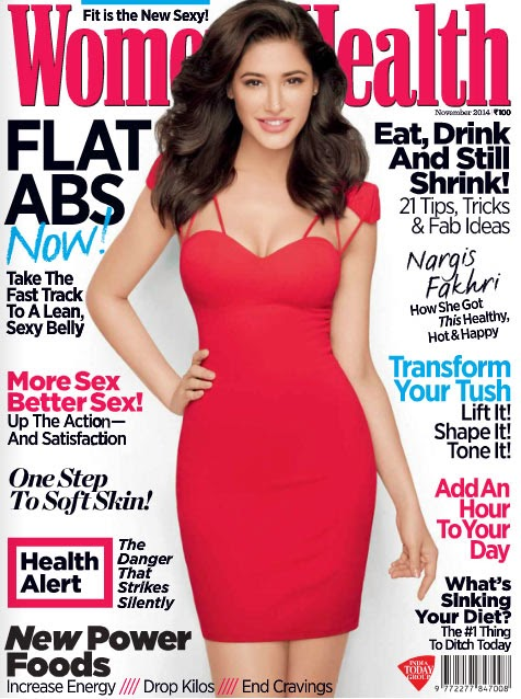 Nargis Fakhri, Bollywood Actresses on Indian Magazines November 2014 Covers