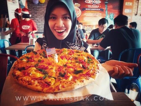 US Pizza Lain Daripada Yang Lain