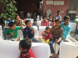 Barcelos India celebrated Children's day with Underprivileged Children
