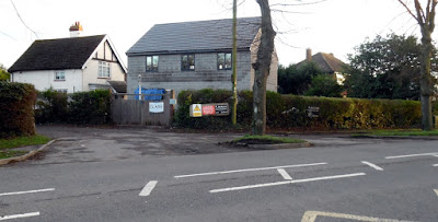 The new property built close to Wrawby Road, Brigg - used on Nigel Fisher's Brigg Blog in January 2019