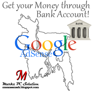 Get your AdSense Money through Bank Accounts