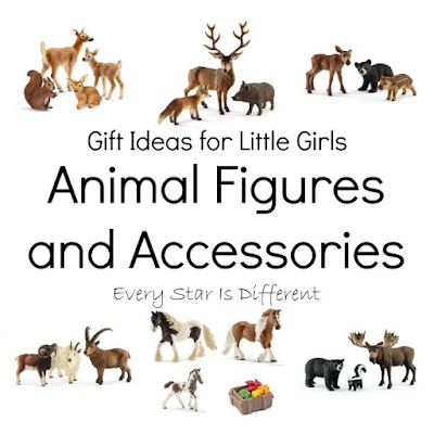 Gift Ideas for Little Girls: Animal Figures and Accessories