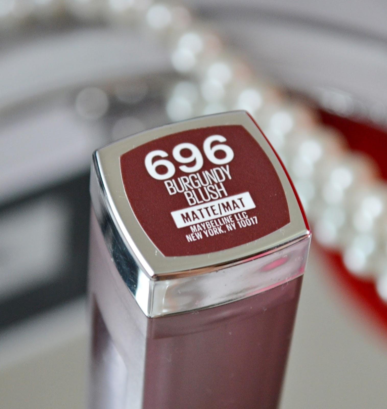 Maybelline Color Sensational Creamy Matte In Burgundy -3182