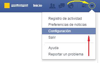 Configurar idioma en Facebook - MasFB
