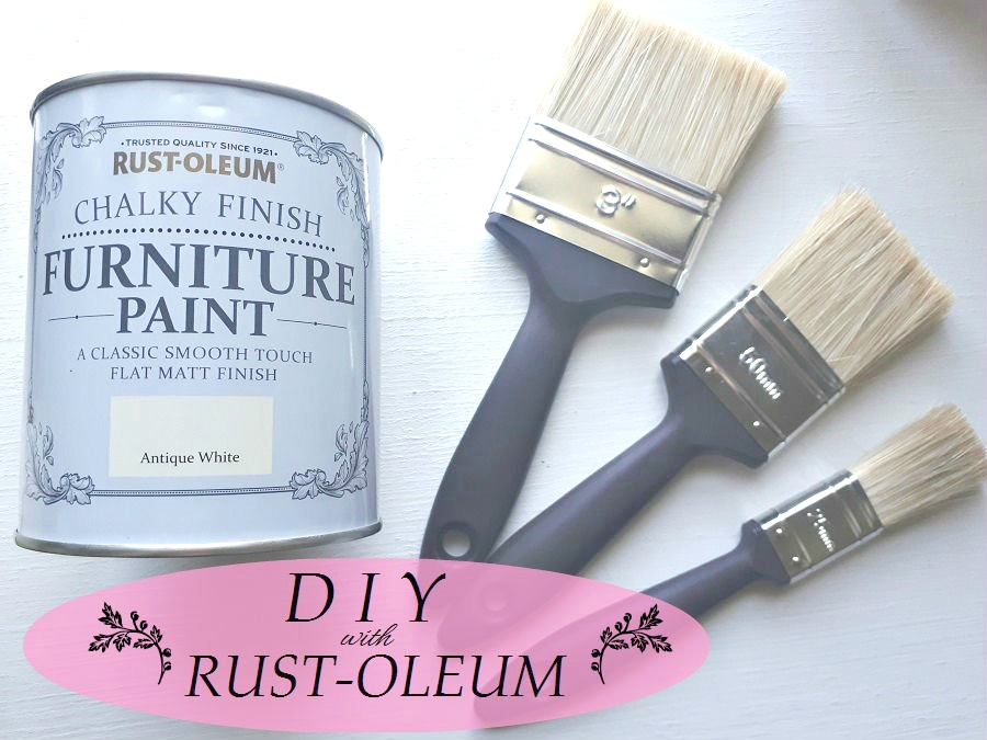 DIY, Rust-Oleum, Chalk Paint, Lifestyle, The Style Guide Blog