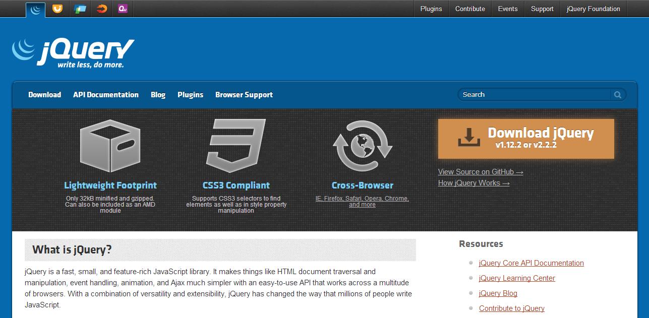 Update jQuery versi Terbaru untuk loading blog lebih cepat