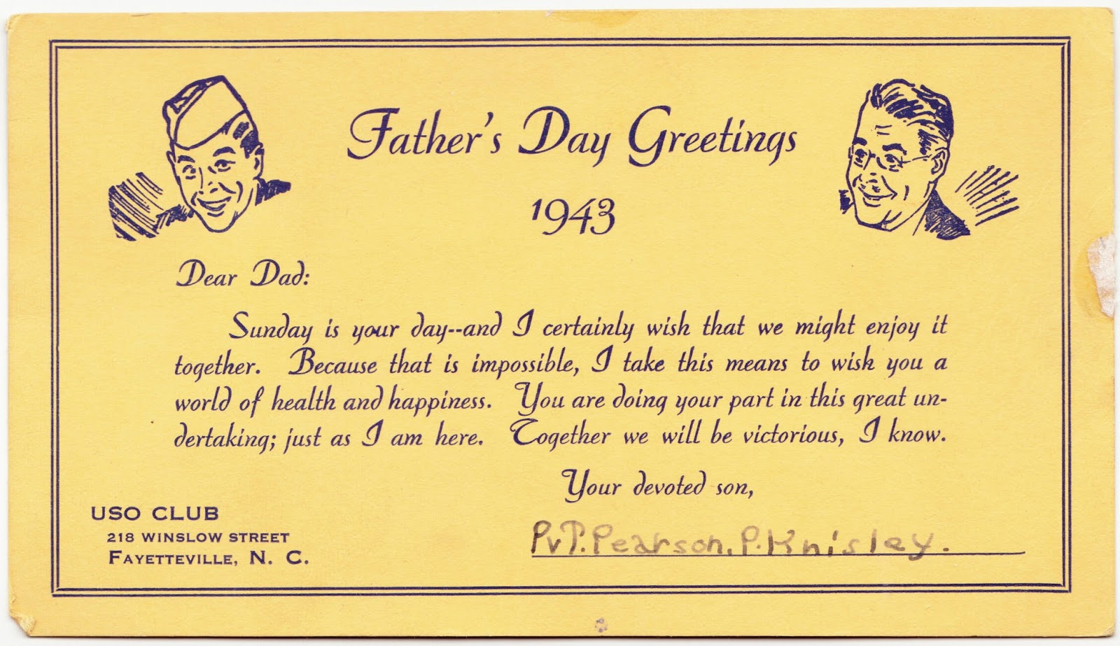 Papergreat 1943 Fathers Day Ephemera Plus Pictures Of Me Dad
