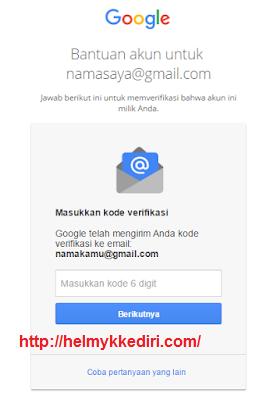 mengembalikan akun google yang dihack9