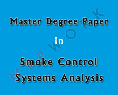AutoCAD, Firefighting, Master Projects, PDF, Projects, Smoke, Sample, case study