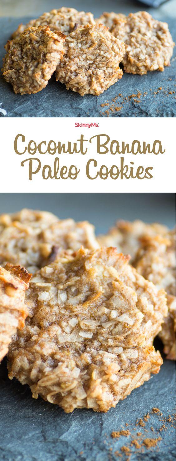 Coconut Banana Paleo Cookies