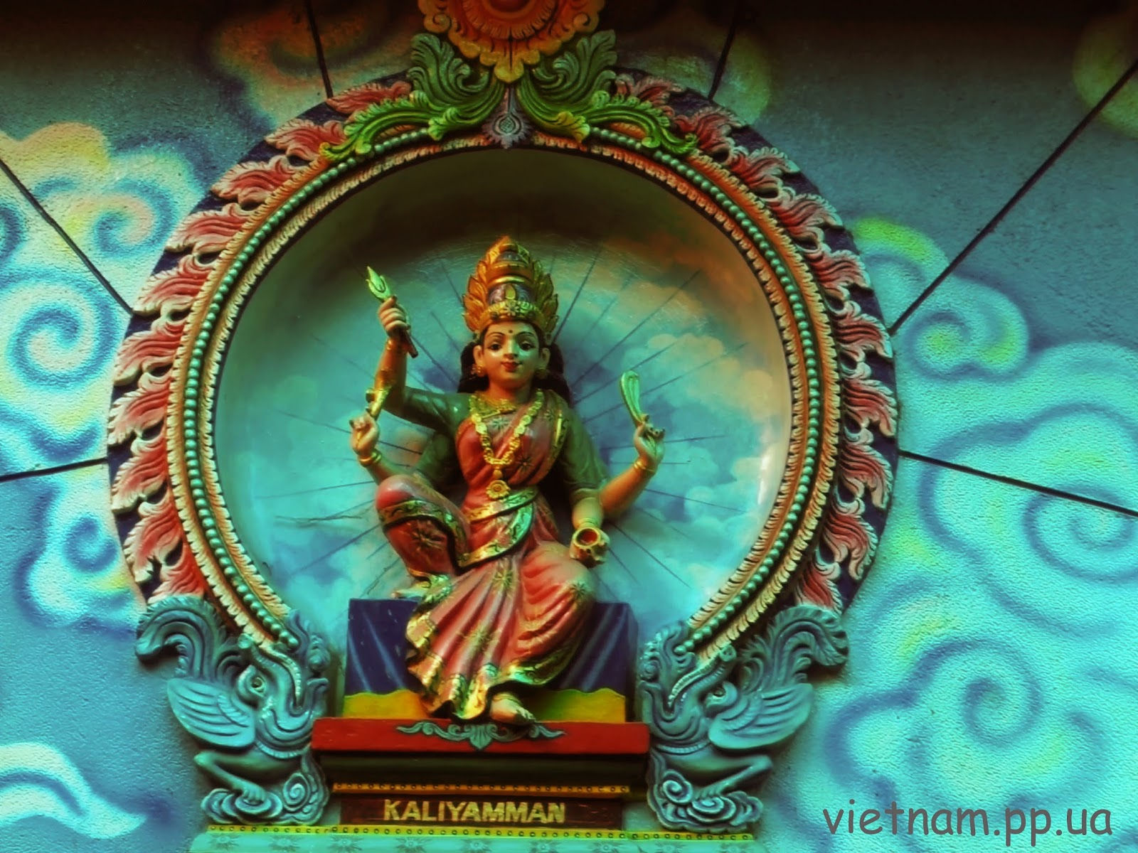 Божество Хинди:Kaliyamman