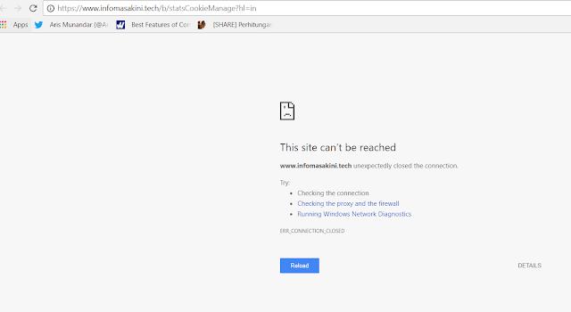 Cara Menghentikan Tayangan Halaman Sendiri pada Blog Domain Hosted dan Non Hosted