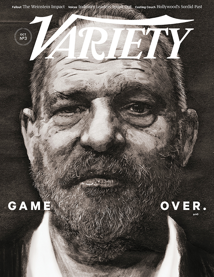 portada de variety dedicada al escándalo de harvey weinstein