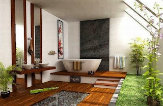 cuarto de baño japonés