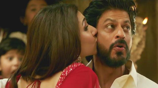 Halka Halka, SRK, Mahira, Kiss