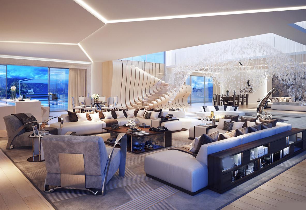 Fantastiske designer stuer   interiør inspirasjon