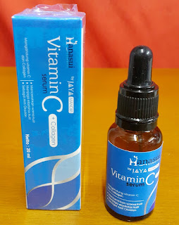 Hanasui Serum Collagen Vit C dan E Biru