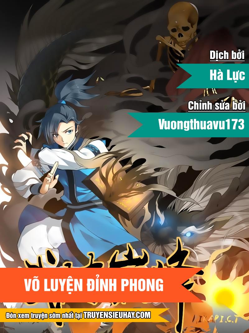 Võ Luyện Đỉnh Phong - Chap 6