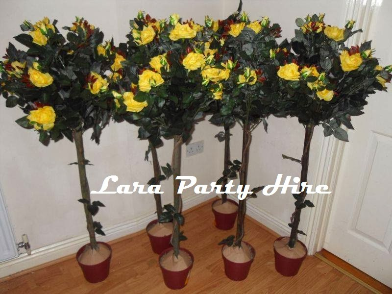 4ft Yellow Rose Tree €10