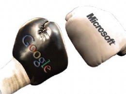 WASHINGTON, Estados Unidos.- Google y Microsoft han sacado a relucir sus diferencias a través de la web, y millones de internautas se convirtieron en testigos privilegiados de una contienda sin precedentes que enfrenta a dos gigantes de la informática. La compañía del mega buscador acusa sin tapujos a la empresa de Bill Gates de haberse aliado con Apple para liderar una campaña en contra de Android, el sistema operativo para teléfonos inteligentes creado por Google, que ha llegado con pretensiones de destronar a los iPhones y BlackBerrys, que basan su sistema en Windows. Esto nace luego de que Microsoft Corp.,
