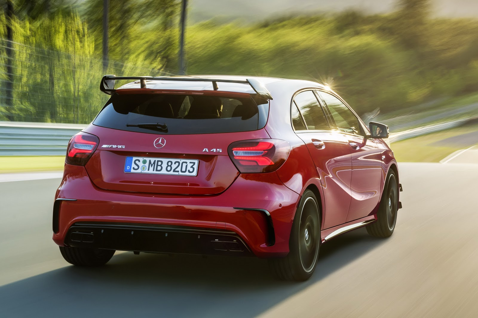 next mercedes amg a45 will definitely have over 400 hp. Black Bedroom Furniture Sets. Home Design Ideas