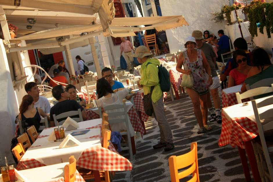 Restaurant Nikos Tavern in Mykonos