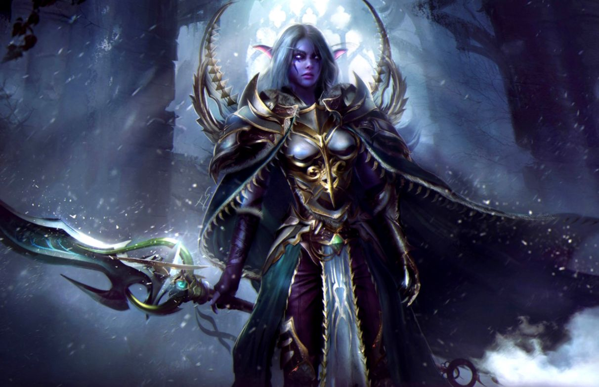 Elf World Warcraft Wallpaper View Wallpapers