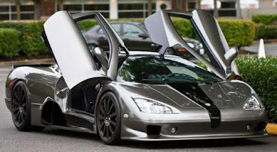 Les voitures les plus rapides du monde - SSC Ultimate Aero (256 Mph)