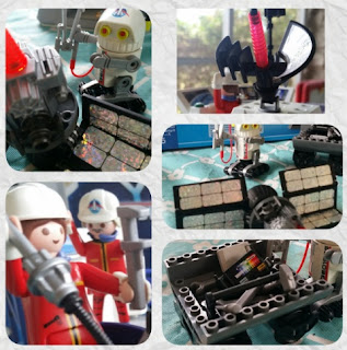 playmobil space center  accessories