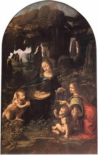 A Virgem ou Madonna das Rochas - Leonardo Da Vinci | O maior artista de todos os tempos